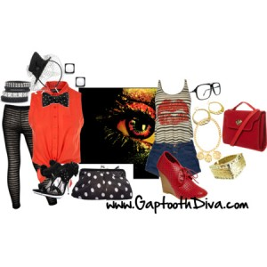 GaptoothDiva Fashion Files - Theatrical Inspired