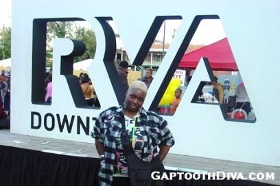 GaptoothDiva.com at 2nd Street Festival 2011
