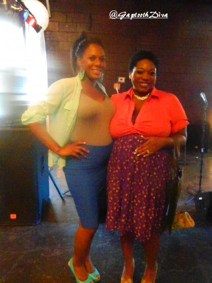 GaptoothDiva and Adrienne Cole of Artisan Cafe