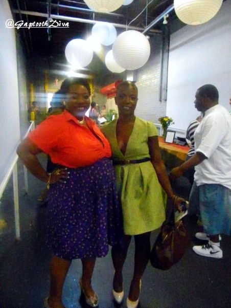 GaptoothDiva and Melody Short of Artisan Cafe