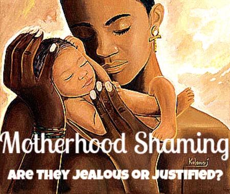 GaptoothDiva discusses Motherhood Shaming