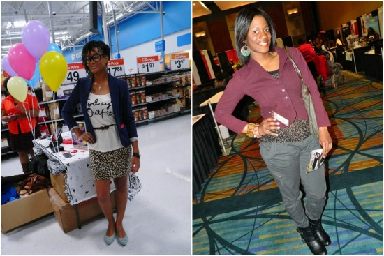 GaptoothDiva discusses wearing animal prints in the winter in fashion and style