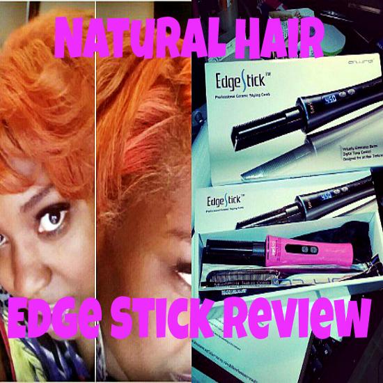 GaptoothDiva reviews Azure Pro Edge Stick on Natural Hair