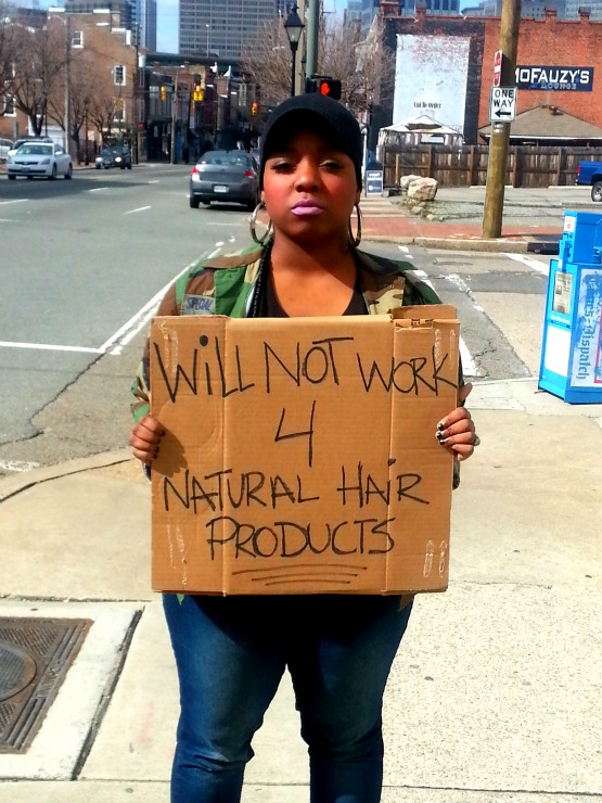 GaptoothDiva discusses the hustle and the Natural Hair Anti -Clique