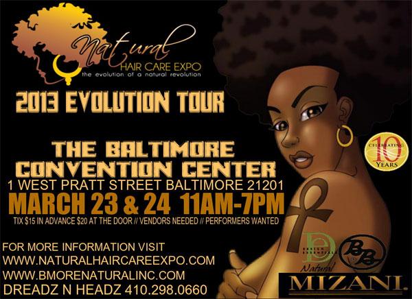 Natural Hair Care Expo Baltimore