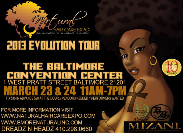 GaptoothDiva is attending the 2013 baltimore-natural-hair-expo