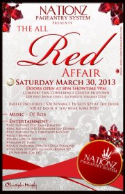 Gaptothdiva is attending the Nationz Pageantry All Red Affair