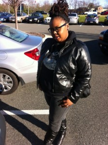 Gaptoothdiva features Kisha Spain (@LadieRealizm) as Featured Style of the week