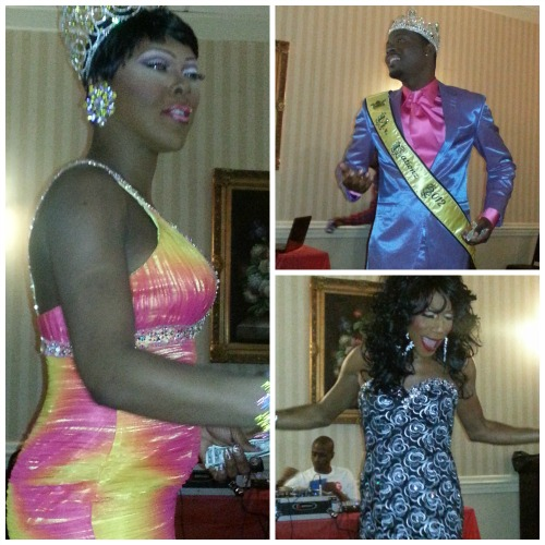 GaptoothDiva attends Nationz Pageantry Systems All Red Affair