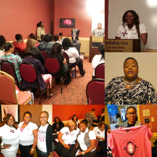 GaptoothDiva Attends PLus Size Beautis First Women's Empowerment Symposium in Richmond Virginia (@PSBINC)