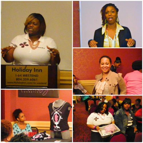 GaptoothDiva Attends PLus Size Beautis First Women's Empowerment Symposium in Richmond Virginia (@PSBINC)