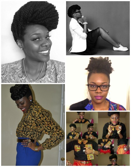 Nicollete O aka NikkiBillieJean featured style on GaptoothDiva.com