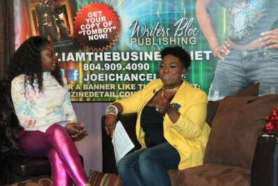 Ladies on the couch at the Joe'i Chancellor featuring GaptoothDiva