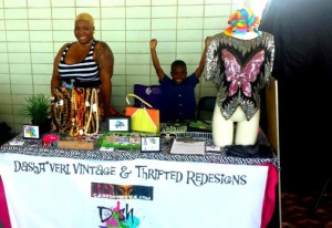 GaptoothDiva Features at Artisan Cafe Summer 2013 at City Hall Observation Deck