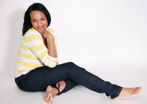 Erica Wright featured on GaptoothDiva style section, plus model, dmv