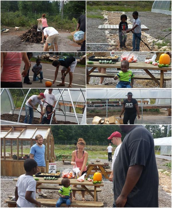 Renew Richmond GaptoothDiva Volunteering with Family