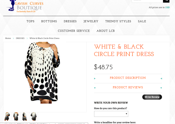 I'esha GaptoothDiva Reviews Lavish Curves Boutique and their dresses are wack