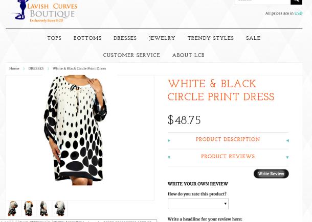 I'esha GaptoothDiva Reviews Lavish Curves Boutique and their dresses are wack