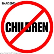 Gaptoothdiva discusses Shade101 No Children do not take jabs at families and children