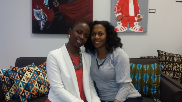I'esha GaptoothDiva interview Melody Short and Adrienne Cole of Artisan Cafe about being Mothers and Business women
