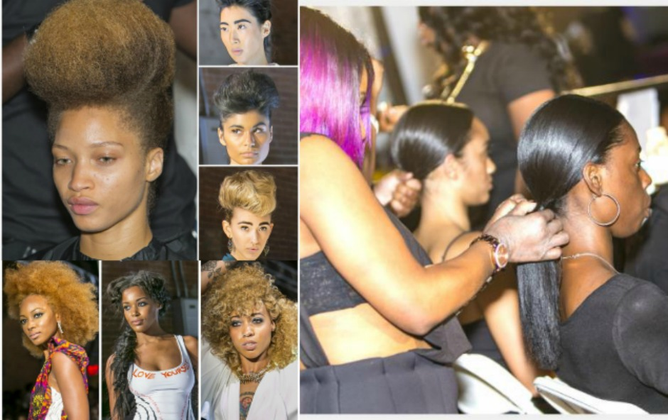 Be #Style Inspired: Design Essentials® Pompadours, Milkmaid Braids, Bouffant & Sleek Ponies Take Runway at Harlem Fashion Row