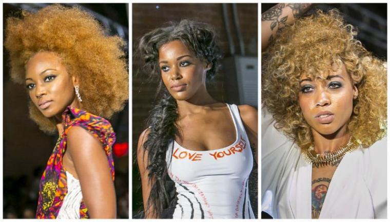 Be #Style Inspired: Design Essentials® Pompadours, Milkmaid Braids, Bouffant & Sleek Ponies Take Runway at Harlem Fashion Row
