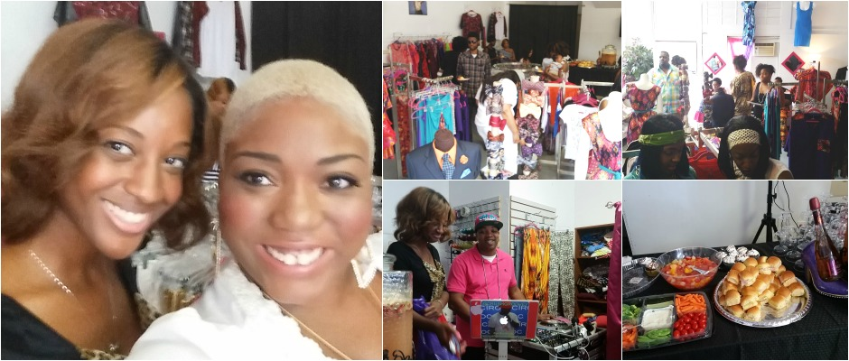 I'esha GaptoothDiva reviews Runway Couture's Boutique Soft Opening