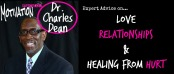 Interview love and Relationship Expert Dr Charles Dean