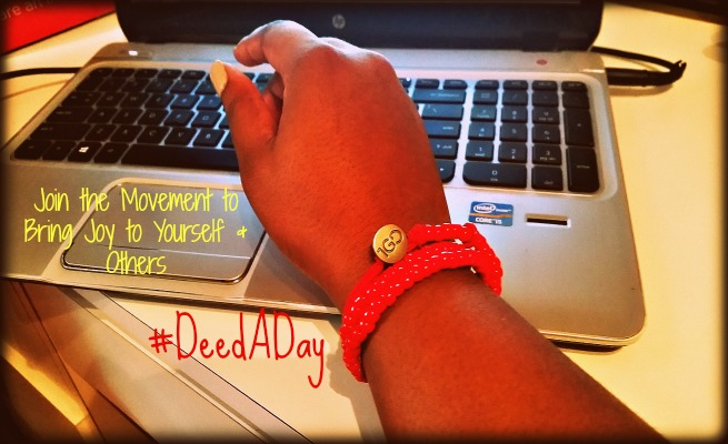Gaptoothdiva writes about the selfless movement of #deedaday