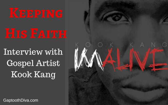 Keeping His Faith: Interview with Gospel Artist Kook Kang with GaptoothDiva.com