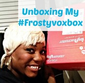 Unboxing my frostyvoxbox with GaptoothDiva