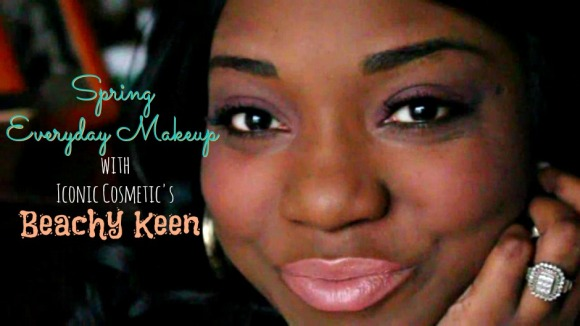 Spring Everyday Makeup with Iconic Beachy Keen