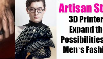 Artisan Style: 3D Printers Expand the Possibilities for Men's Fashion featured on GaptoothDiva