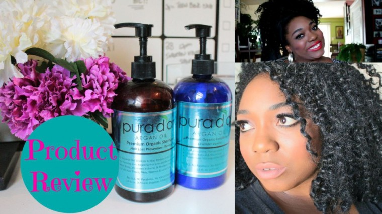 How to Grow Natural Hair Long | Pura d'or Organic Argan Oil Hair Loss Prevention Review