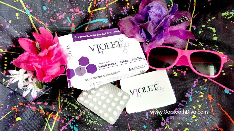 Violet Iodine daily review by I'esha GaptoothDiva